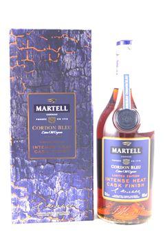 圖片 Martell Cordon Bleu Intense Heat Cask 藍帶赤焰木桶限量版
