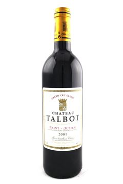 Picture of Chateau Talbot 2001 (4th growth)