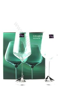 Picture of Lucaris Bordeaux Crystal (HK Style) Set of 2