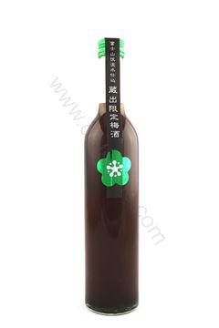 Picture of 高砂山廢綠茶梅酒 Ocha Umeshu (500ml)