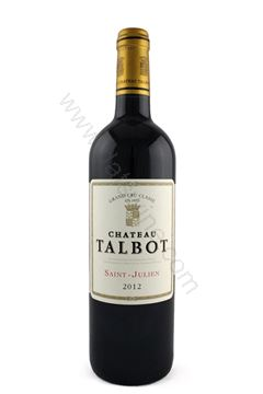 Picture of Chateau Talbot 2012 (4th Growth)