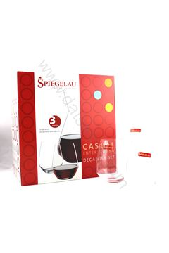 Picture of Spiegelau Germany Decanter(450ml)+Glass x 2
