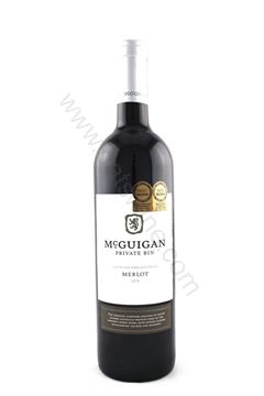 Picture of McGuigan Private Bin Merlot 2014