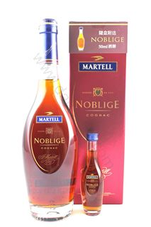 Picture of Martell Noblige Cognac (70cl) with miniature (5cl)