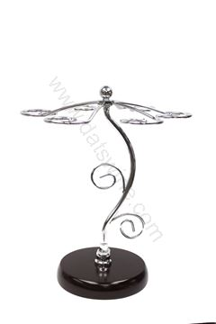 Picture of Elegant Silver Flower Wine Rack 高貴銀色花型酒架