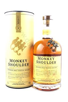 Picture of Monkey Shoulder Blended Malt Scotch Whisky (禮盒裝)