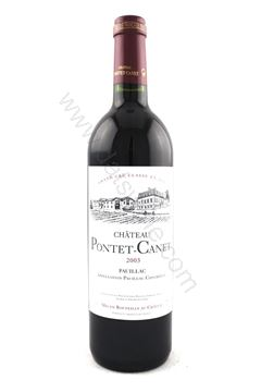 Picture of Chateau Pontet Canet 2003 (5th Growth)