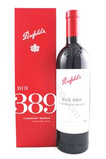 Picture of Penfolds Bin 389 Cabernet Shiraz 2015 (Gift Set)