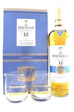 圖片 The Macallan 麥卡倫 12 (Triple Cask) with 2 glasses