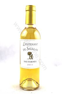 Picture of Lieutenant de Sigalas Sauternes 2011 (375ml)