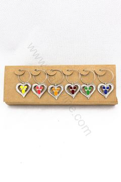 圖片 Wine Charm Set (Heart)