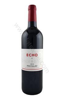 Picture of Echo De Lynch Bages Pauillac 2010