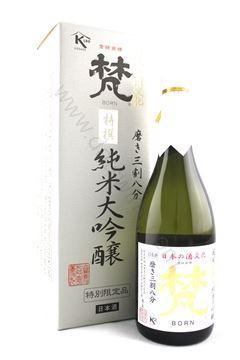 圖片 梵 特撰 純米大吟釀三割八分 (720ml)