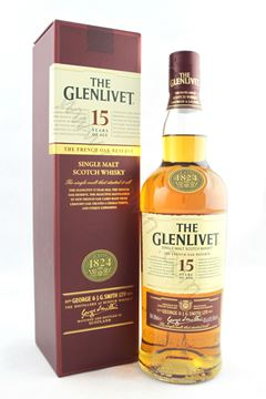 圖片 The Glenlivet 15 yr single malt 格蘭利威