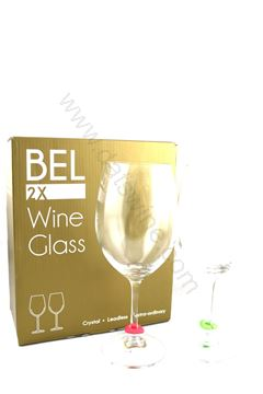 圖片 BEL Crystal Leadless Wine Glass (BEL 無鉛水晶杯 2只)