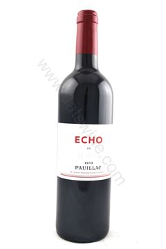 圖片 Echo De Lynch Bages Pauillac 2013 (靚次伯副牌)