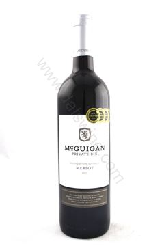 圖片 McGuigan Private Bin Merlot 2017