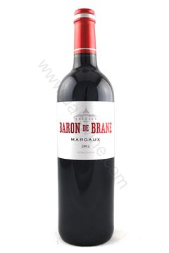 Picture of Baron de Brane Margaux 2012 (2nd Brane Cantenac)