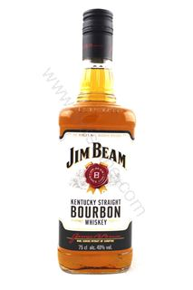 Picture of Jim Beam Kentucky Straight Bourbon Whiskey