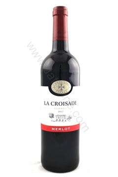 Picture of La Croisade Merlot 2017