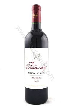 圖片 Pastourelle de Clerc Milon (2nd Clerc Milon) 2010
