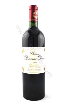 Picture of Chateau Branaire Ducru 2003  (4th growth)