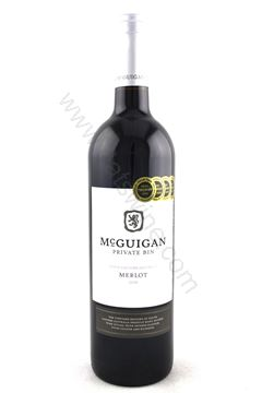圖片 McGuigan Private Bin Merlot 2018