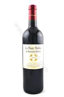 Picture of Le Haut Medoc de Branaire Ducru 2015